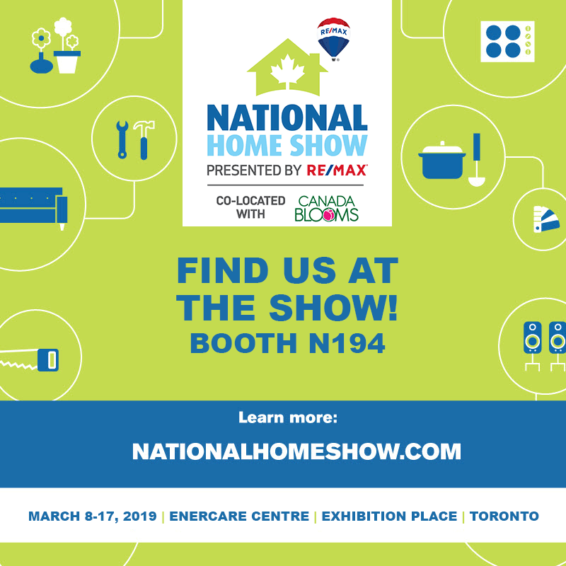 National Home Show Booth N194